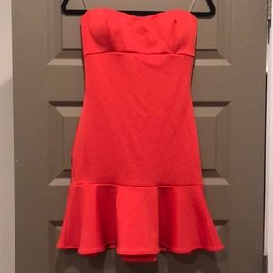 Lulu's Coral Party Dress - NWT!
